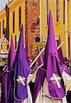 Spain, Canary Islands, Tenerife, San Cristobal de la Laguna, Traditional Easter Holy Week Procession.