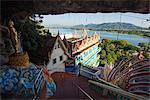 South East Asia, Thailand, Kanchanaburi, Wat Ban Tham, The Dragon temple cave