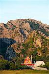 South East Asia, Thailand, Prachuap Kiri Khan, Khao Sam Roi Yot National Park, Wat Khao Daeng temple