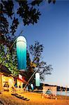 South East Asia, Thailand, Phang Nga Province, Khao Lak beach, Indigo beach bar and restaurant
