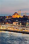 Turkey, Istanbul, Bosphorus River, Suleymaniye Mosque