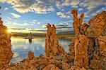 USA, California, Eastern Sierra, Mono Lake sunrise