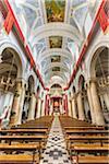 Interior of Church of Santa Maria del Monte, Caltagirone, Sicily, Italy