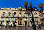 Piazza Duomo in Syracuse, Sicily, Italy