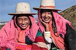 Khampinis at their settlement below Drolma La Pass, Tibet, China, Asia