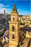 Bell Tower of Chiesa di San Pietro Barisano in Sassi, Matera, Basilicata, Italy