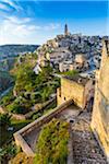 Overview of Sassi, Matera, Basilicata, Italy