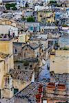 Buildings in Sassi, Matera, Basilicata, Italy