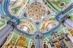 Interior of Chiesa del Purgatorio, Matera, Basilicata, Italy