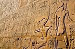 Hieroglyphics at Karnak Temple, Luxor, Egypt