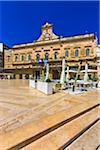 Ostni Town Hall in Ostuni Square, Ostuni, Puglia, Italy