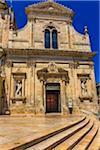 Church of St Francis of Assisi in Ostuni Square, Ostuni, Puglia, Italy