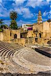 Roman Amphitheatre in Lecce, Puglia, Italy