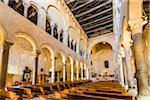Interior of Duomo di Bari dedicated to St Sabinus of Canosa (San Sabino), Bari, Puglia, Italy