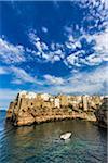 Coastal View of Polignano a Mare, Puglia, Italy