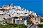 Overview of Ostuni, Puglia, Italy