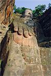 Giant Buddha, Lechan, China, Asia