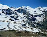 Hohe Tauren National park region, The Grossglockner road, Austria, Europe