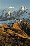 Marmolada group, Dolomites, Bolzano province, Trentino-Alto Adige, Italy, Europe