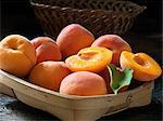 Fresh organic fruit, king apricots