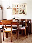 Scandinavia, Sweden, Dinning room