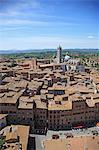Italy, Tuscany, Toscana, Historic Centre of Siena,  UNESCO World Heritage