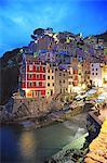 Italy, Liguria, Cinque Terre, Riomaggiore, UNESCO World Heritage