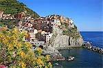 Italy, Liguria, Cinque Terre, Manarola, UNESCO World Heritage