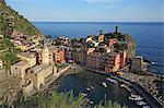 Italy, Liguria, Cinque Terre, Vernazza, UNESCO World Heritage