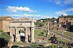 Italy, Rome, Historic Centre of Rome, UNESCO World Heritage, Foro Rom