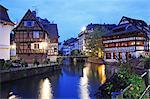 France, Alsace, Strasbourg, the Grande Ile, UNESCO World Heritage, La Petite France