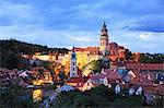 Czech Republic, South Bohemia, Historic Centre of Cesky Krumlov, UNESCO World Heritage Site