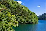 Lake Shikaribetsu, Daisetsuzan national park, Obihiro, Hokkaido, Japan