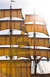 Sails of boats
