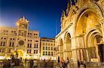 St. Mark's Basilica, Piazza San Marco, Venice, UNESCO World Heritage Site, Veneto, Italy, Europe