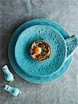 Savoury tart with egg