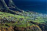 Village of Termen near Brig, Valais, Swiss Alps, Switzerland, Europe