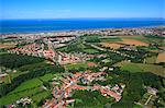 France, Northern France, Pas de Calais. Wimille