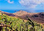 Landscape of the Porto Santo Island, Madeira Islands, Portugal, Atlantic, Europe