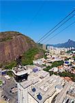 Cableway (cable car) to Sugarloaf Mountain, Urca, Rio de Janeiro, Brazil, South America