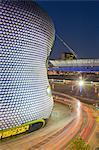 Bullring and Selfridges at dusk, Birmingham, West Midlands, England, United Kingdom, Europe
