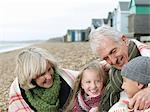 Generations at beach
