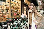 Woman Buying a Bike