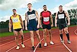 Athletes on sportstrack