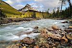Silverhorn Creek and Mount Weed, Banff National Park, Alberta, Canada