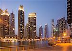 Skyscrapers in Dubai marina, Dubai, United Arab Emirates
