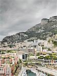 View of city and harbor, Monte Carlo, Monaco