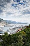 View of coastline, Monte Carlo, Monaco