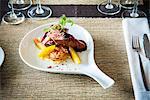 Gourmet pork dish