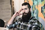Man with beard, portrait